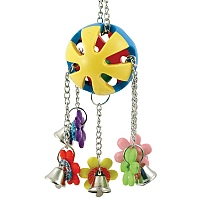 Charming Jingle Ball Parrot Toy