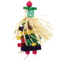 Hula Dancer Chewable Parrot Toy