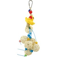 Dolly Duck`s  Vine Ball Surprise Parrot Toy