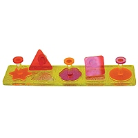 Acrylic Puzzle Shapes Parrot Toy Medium