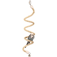 Parrot Boing - Sisal Spiral Bouncing Perch - Small