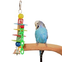 Alphabet Stacker Parrot Toy