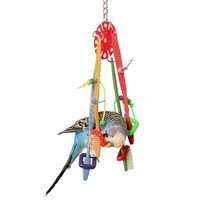 Balancing Brushes Parrot Toy