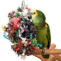 Multi Preener Hanging Parrot Toy