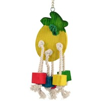 Pineapple Play Wooden Parrot Toy