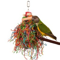 Shredding Stack Parrot Toy