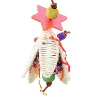 Shredding Flower Chewable Parrot Toy
