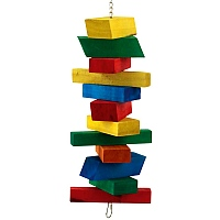 Blocks Ahoy! Wood Parrot Toy - Large