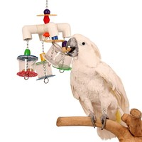 4 Way Forager - Enrichment Toy for Parrots