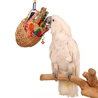 Fun Foraging Basket Toy for Parrots