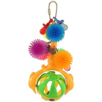Spinning Rattle Parrot Toy