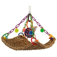 Flying Trapeze Parrot Toy - Large