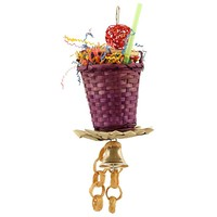 Sundae Cup Chewable Foraging Parrot Toy