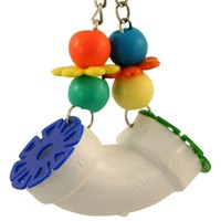Polly Pipe Forager Parrot Toy