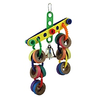 Topsy Turvey Parrot Toy