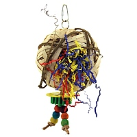Bird`s Nest Parrot Toy