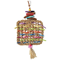Woven Whimsy Parrot Toy