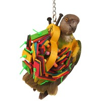 Buzbee - Hanging Chew Toy for Parrots