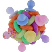 Binky Ball Foot Toy for Parrots - Medium