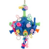 Nuts, Bolts & Binkys Medium - Challenging Parrot Toy