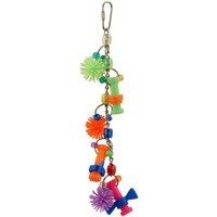 Croc Lok - Action Packed Hanging Parrot Toy