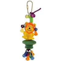 Zoolies Lion Fun Friend Parrot Toy