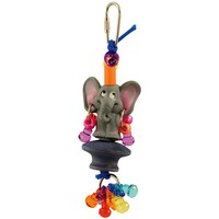 Zoolies Elephant Fun Friend Parrot Toy