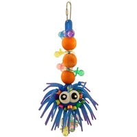 Sea Urchin Bounce & Chew Parrot Toy