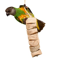 Bird Kabob - Standard - Natural Parrot Toy