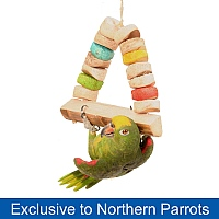 Bird Kabob Carnival Swing for Parrots - Large