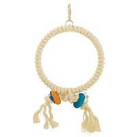 Cotton Preening Ring Parrot Toy - Medium