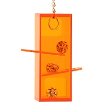 Hanging Puzzle Tower Parrot Toy - Medium
