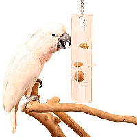 Hanging Puzzle Tower - Enrichment Parrot Toy - Large