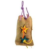 Foraging Surprise Bag Parrot Toy - Medium
