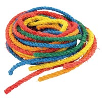 Pack of 6 Coloured Sisal Ropes - Parrot Toy Making Part