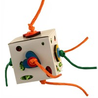 Foraging Fun Box Parrot Toy - Large