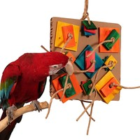 Birdie Pizza Parrot Toy - Large