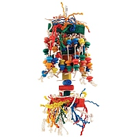 Puppet Wood & Rope Parrot Toy - Large