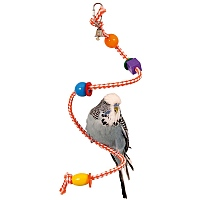 Spiral Toy Parrot Perch