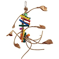 Jupiter Chewable Foraging Parrot Toy