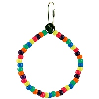 Marble Rainbow Ring Parrot Toy
