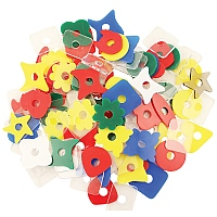 Acrylic Shapes Parrot Toy Making Parts - 2
