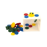 Bank Puzzle Toy and Teach Box - Medium