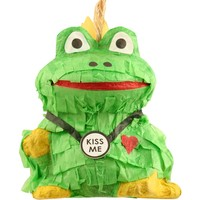 Frog Prince Pinata - With Treats - Foraging Toy for Parrots