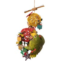 Galactic Crunch - Fun Filled Chewable Parrot Toy
