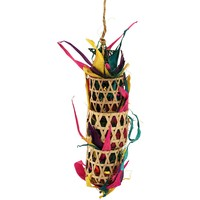 Triple Play Foraging Pocket Parrot Toy