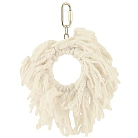 Supreme Cotton Rope Ring Parrot Toy - Small