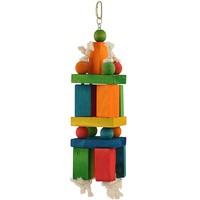 Large Building Blocks Parrot Toy