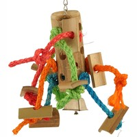 Bamboo Spider Parrot Toy - Small