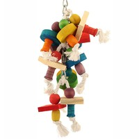 Hanging Thimbles Parrot Toy - Large